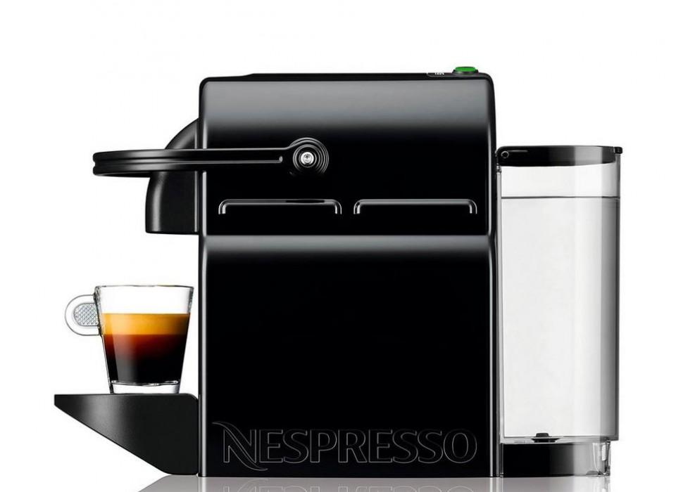 Inissia black m105 nespresso machine for Nespresso firma