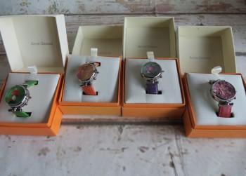 4 Verschillende Anne Geddes Horloge`s