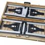 Defa Houten Picknicktafel met Aluminium Frame