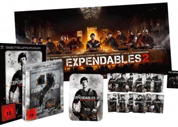 €43,->THE EXPENDABLES 2-Limited Hero Pack Blu ray