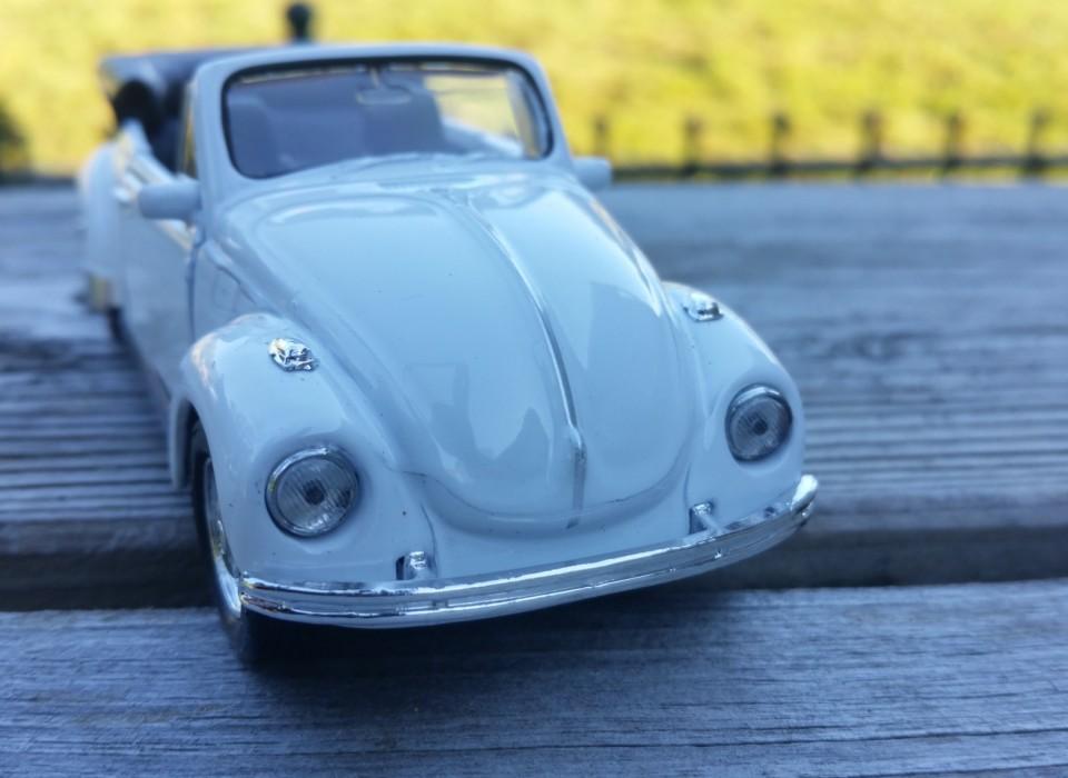 Volkswagen Kever Cabrio Wit
