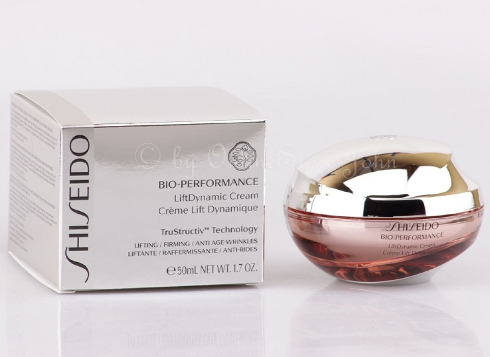 shiseido bio performance gesichtscreme
