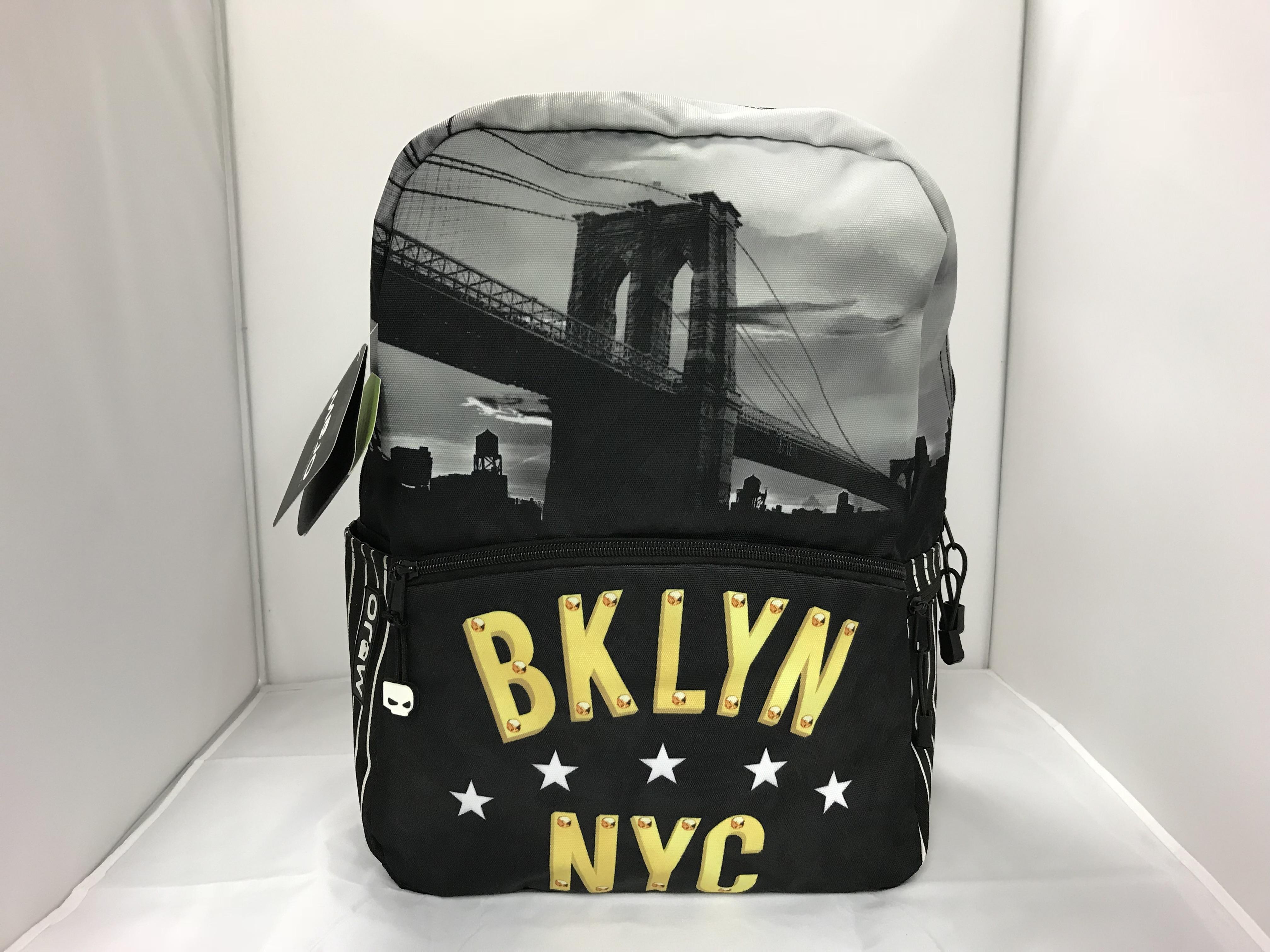 Mojo Rugtas zwart Brooklyn