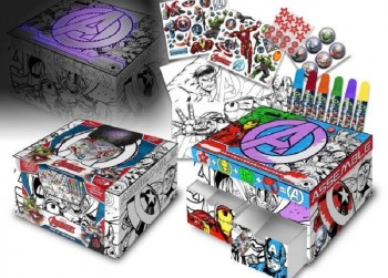 AVENGERS Box Set Secrets to Color en Decorate