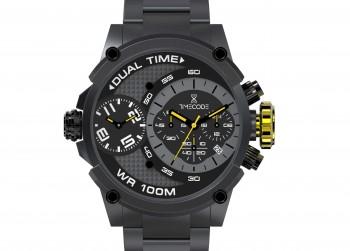 Luxe Timecode horloge TWV € 600,00 heren horloge