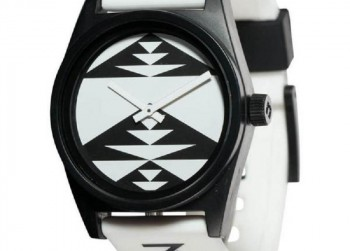 NEFF Daily Paso White Watch met Siliconen Band