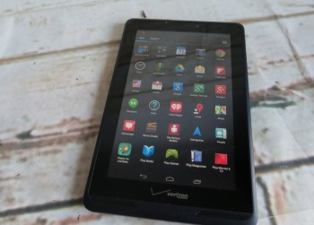 Tablet Verizon QMV7A 7 inch HD 4G Android 4.2.2.