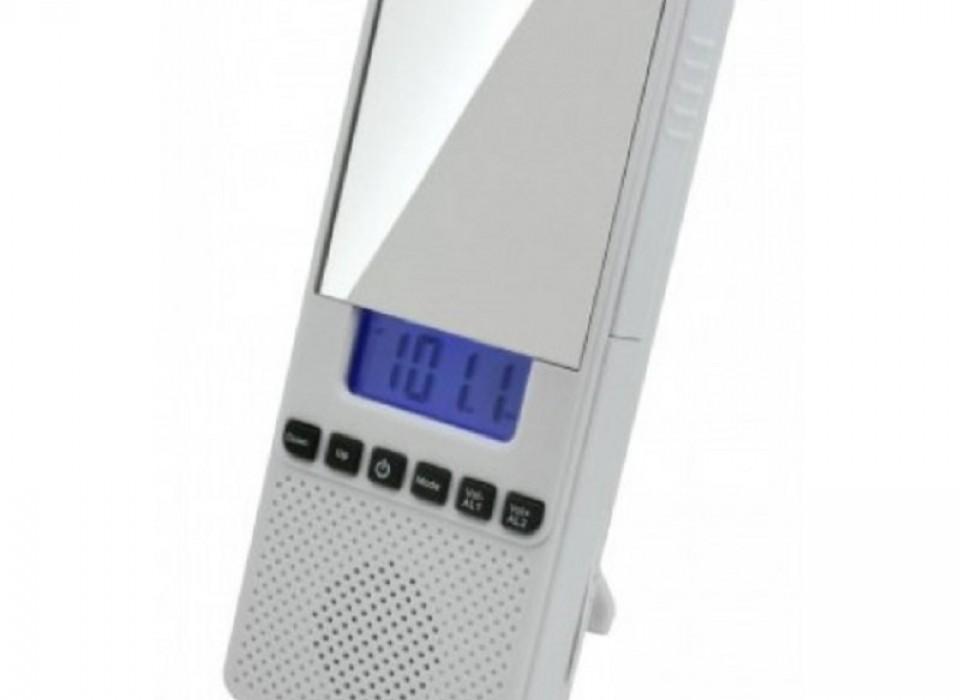 Spiegel Met Klok : Soundmaster br80 badkamerradio met klok en spiegel jouwveilingen