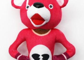 "Fortnite Knuffel Pluche Skin NIEUW ""Pink Bear"""