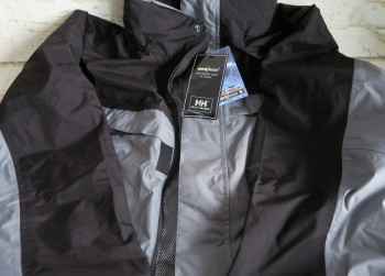 Helly Hansen 71108 Snickers Grey/Black Jacket M L