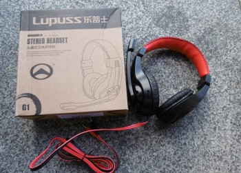 Lupus G1 3.5mm Surround Stereo Gaming Headset.