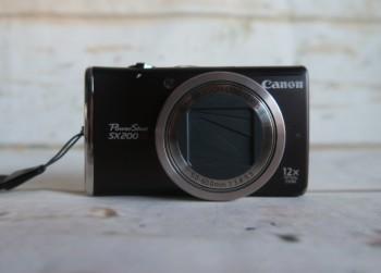 Digitale Camera Canon Powershot SX 200 met 12.1 MP