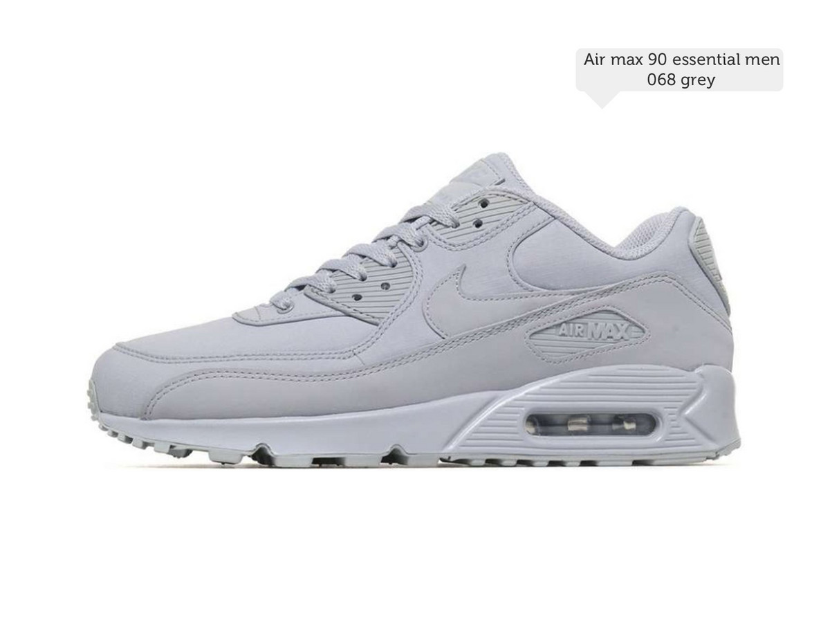 Nike Air Max 90 Essential Men Grey Maat 42 | JouwVeilingen