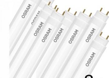 8x LED TL SubstiTUBE Star + 8x LED-starter (60cm)