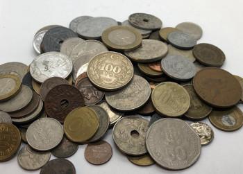 Verrassings set ½ Kilo div buitenlands munten