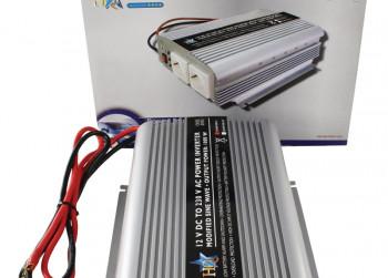 HQ Power Inverter 12v to 230v ac 50 hz Omvormer