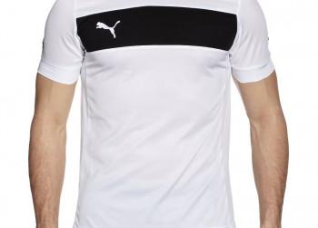 PUMA Powercat 3.12 Shirt Herenjersey wit zwart XL