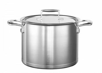 KitchenAid 7 Laags RVS 8 L Pan met Glazen Deksel