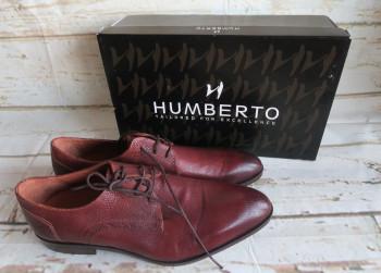 Humberto H3133 Mike Cognac Heren Veterschoenen M45