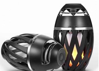 Bluetooth Speaker Met Vlammen Effect T.W.V 50 euro