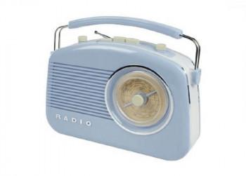 Konig Retro AM/FM Radio Blauw