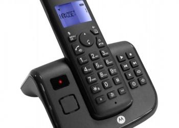 Motorola T211 ZebraSingle DECT Zwart Telefoon