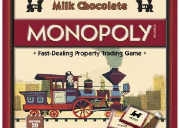 Monopoly chocolade spel
