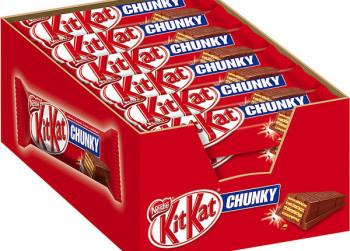 KitKat Chunky, 24 x 40 gr. (1 doos)