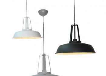 Joy Lighting hanglamp Rome Beton t.w.v. €79,95