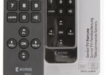 König Senior TV Afstandsbediening