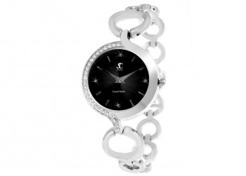 €129.99 Sc Crystal Paris Luxury Collection horloge
