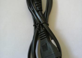 Europese 2plug power kabel voor laptop adapters
