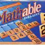 Mathable Deluxe Wood Rekenvariant van Scrabble