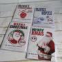 4 Verschillende Wenskaarten met CD Merry Christmas