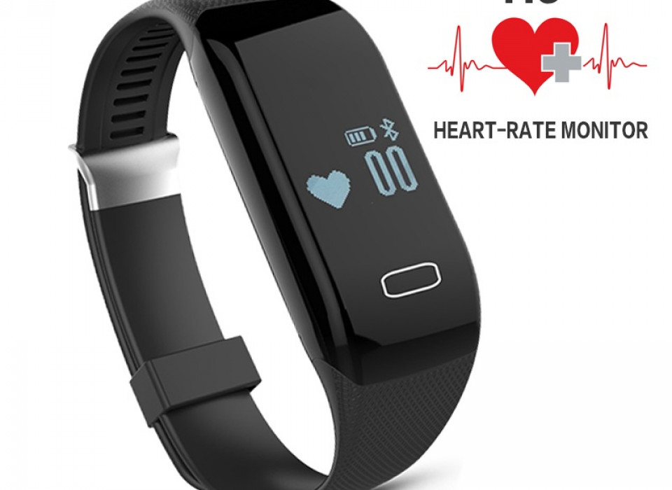 Smart Horloge Activity Tracker Met Hartslagmeter