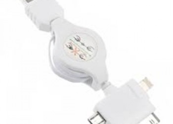 USB Charging Kabel Wit