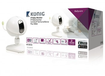 Konig IP Camera Babyfoon Audio/Video 2.4 GH