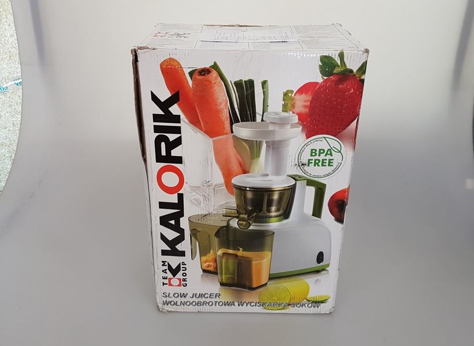 Kalorik Slow Juicer Review : Kalorik Slow Juicer (Twv. ?99,99) Jouwveilingen.nl webshop