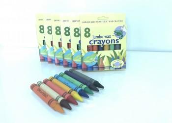 6 pakjes wasco krijtjes voor uren kleurplezier