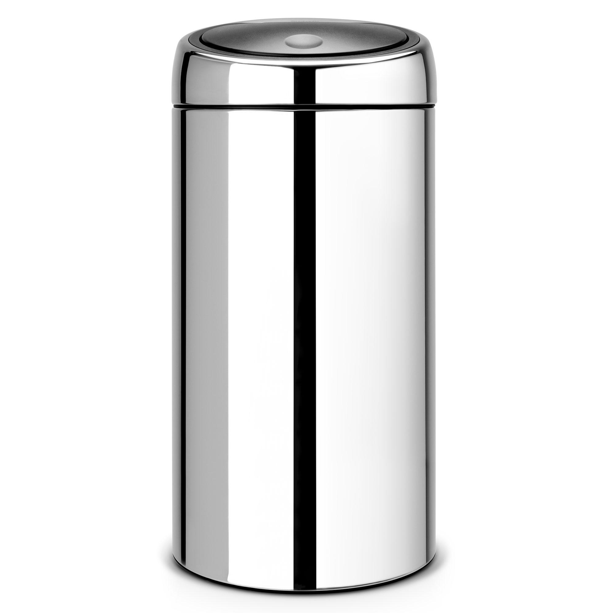 Prullenbak Brabantia Touch Bin 45 Liter.Brabantia Touch Bin Afvalemmer 45 L Jouwveilingen Nl Webshop