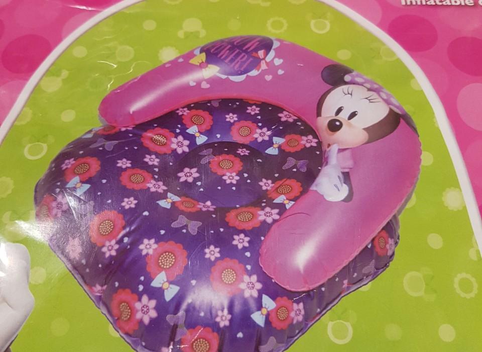 Minnie Mouse Stoel : Minnie mouse opblaas stoel cm af jouwveilingen webshop