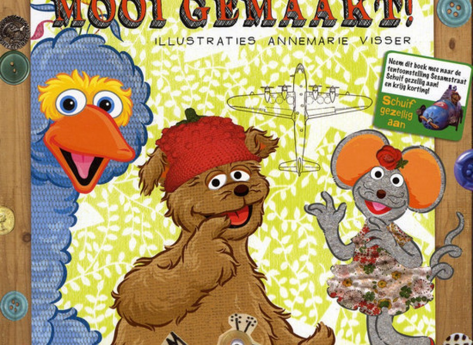 694dd0ebaf4 Sesamstraat Mooi gemaakt boek & Herfst doe boek. | JouwVeilingen.nl ...