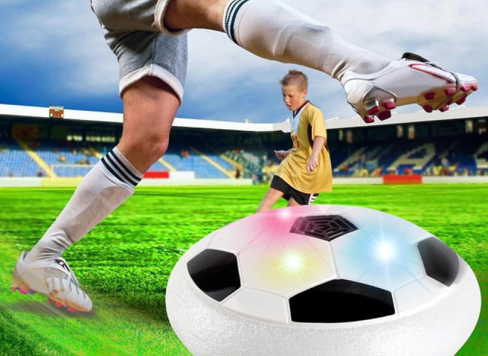 Bekend van TV! Air Power Voetbal met verlichting. | JouwVeilingen.nl ...