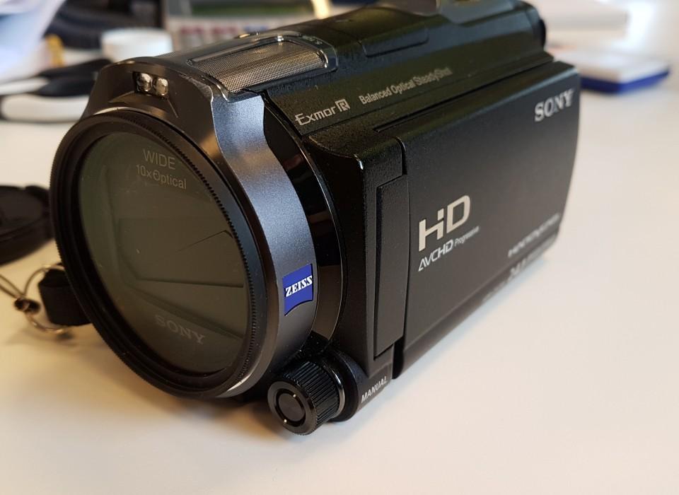 Sony Hdr Cx730 Vlog Camera Mic In Ex Demo Jouwveilingennl