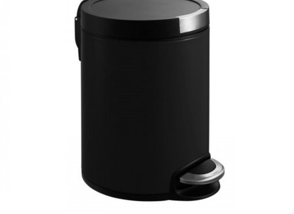 Eko Pedaalemmer 5 Liter.Eko Pedaalemmer 5 Liter Mat Zwart Jouwveilingen Nl Webshop
