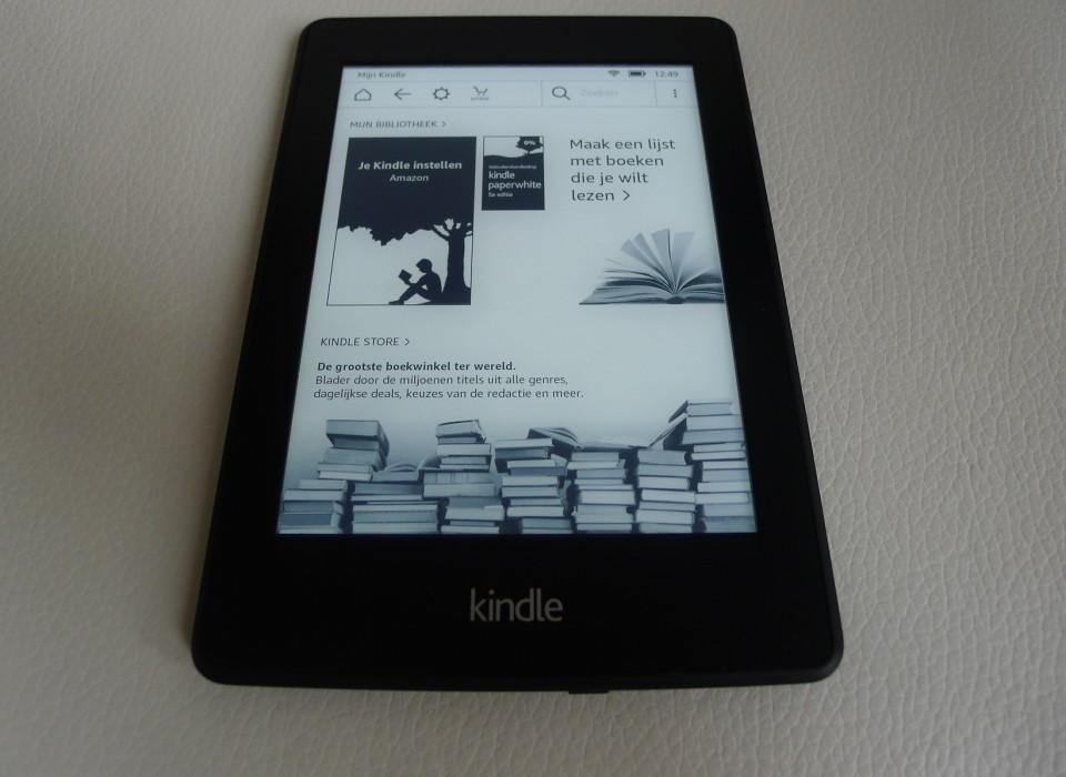 Kindle DP75SDI E-reader Paperwhite met verlichting   JouwVeilingen ...