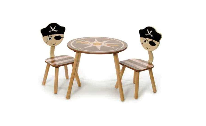 Kinderzitje Aan Tafel.Kinderzitje Set Tafel En Stoelen Piraat Jouwveilingen Nl